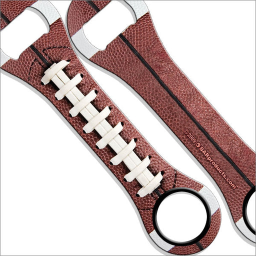 Dog Bone Bottle Opener / Bar Key - Football