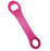 Dog Bone Bottle Opener / Bar Key - Neon Pink
