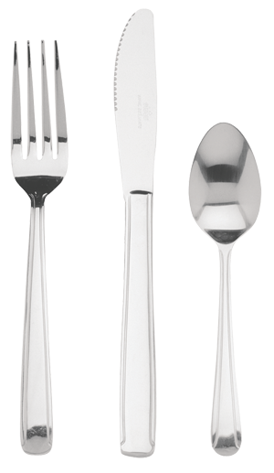 Flatware - Dominion Medium Weight 18 Chrome - Dozen Packs
