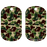 Kolorcoat™ Dog Tag - Green and Brown Camo