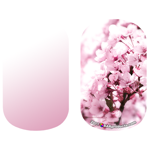 Kolorcoat™ Dog Tag - Pink Flowers