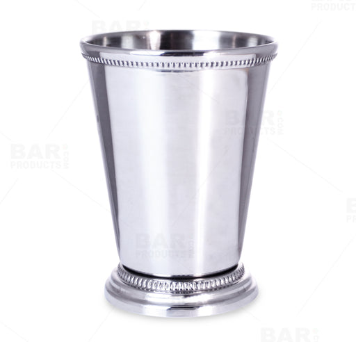 BarConic® Stainless Steel Beaded Mint Julep - 12oz