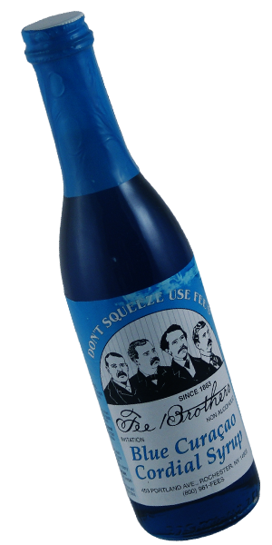 Fee Brothers - Blue Curacao Cordial Syrup - 375 ml Bottle
