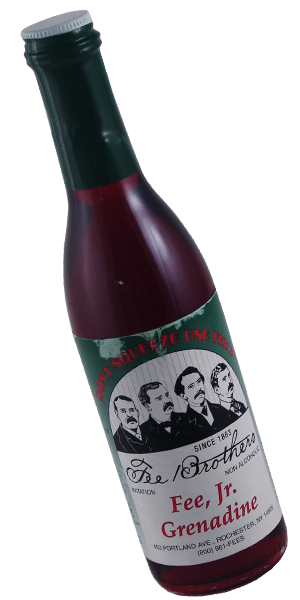 Fee Brothers Cordial Syrup - Grenadine - 375ml Bottle