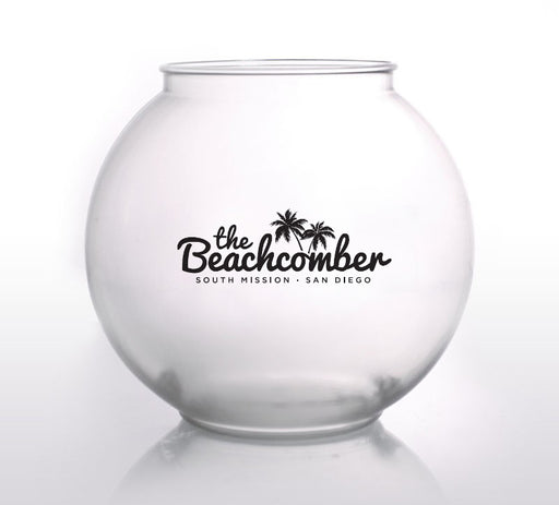 Custom Non-Handled Fishbowl Plastic cup - 46 Ounces