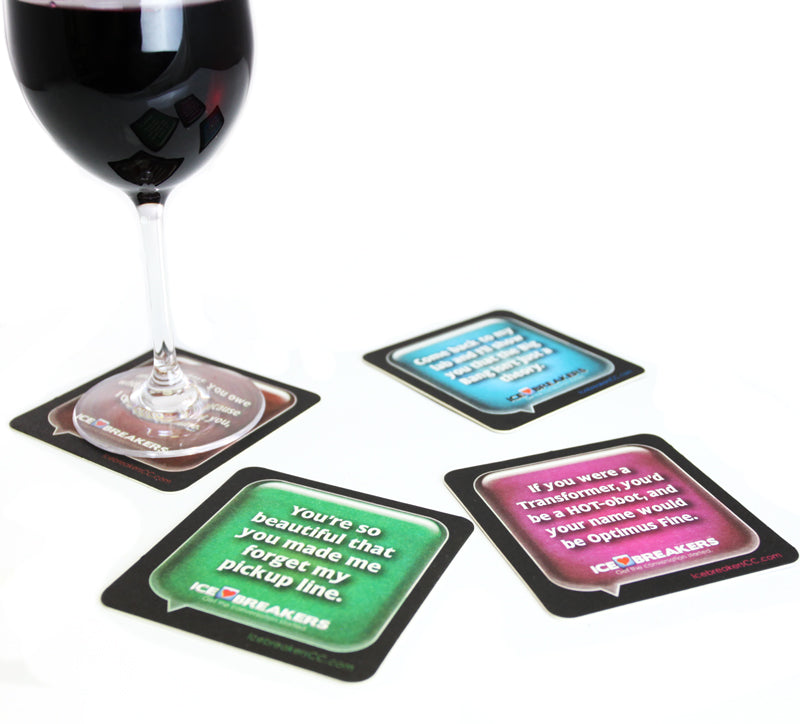 Flirt Coasters - 69 Ice Breaker Conversation Coasters