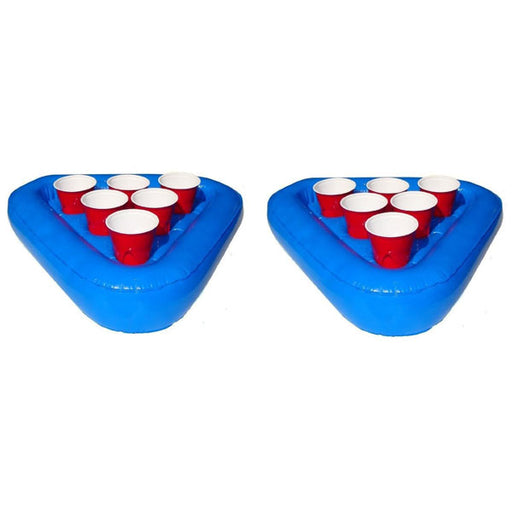 Inflatable Floating Beer Pong Rack - Set of Two