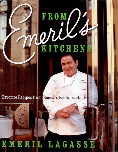 From Emeril's Kitchens: Favorite Recipes - Book - Cover
