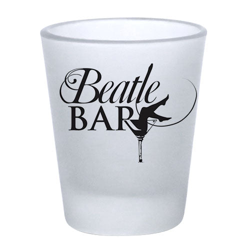 1.75oz Custom BarConic® Frosted Shot Glass
