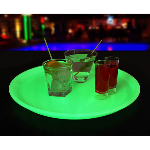 Glow in the Dark Circular Tray