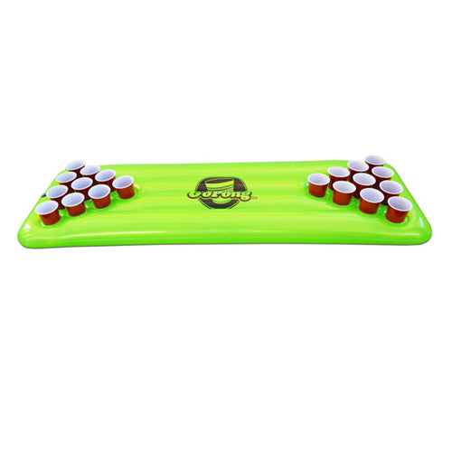Pool Pong Table - Neon Green w/3balls