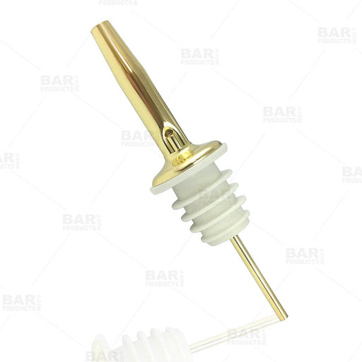 BarConic® Stainless Steel Liquor Pourer - Gold Plated