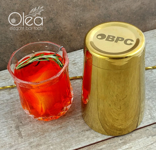 Olea™ Cocktail Shaker - Gold Plated - 16oz Weighted