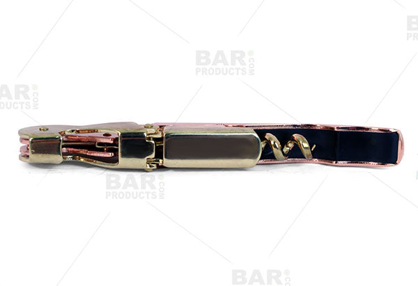 Gold and Copper Plated - Double Lever Corkscrew