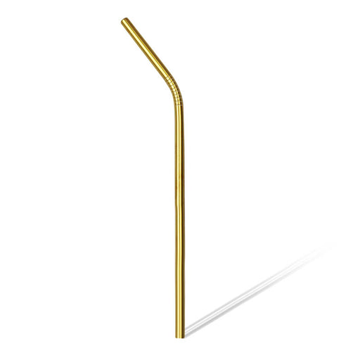 BarConic® Straw - Gold Plated Curved