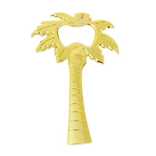 BarConic® Palm Tree Zinc Alloy Bottle Opener - Gold Plated