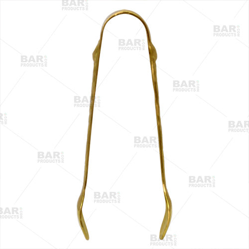 Gold Plated 4 inch Sugar Tongs