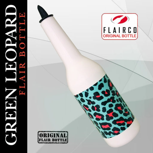Kolorcoat™ Flair Bottle - Green Leopard Print Design - 750ml