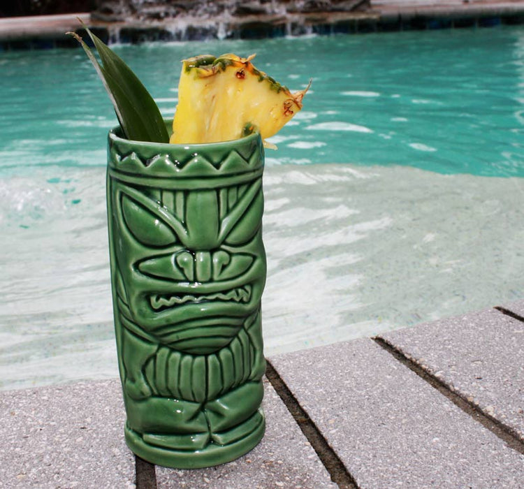 Growl Ceramic Tiki Mug