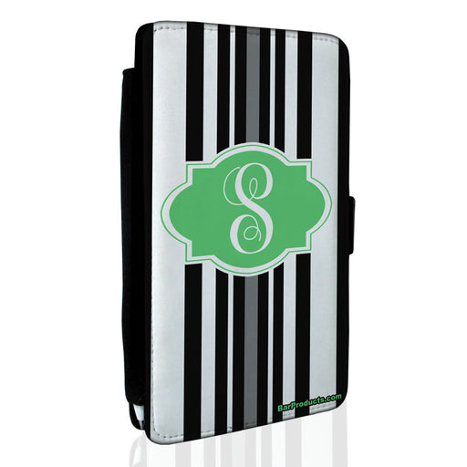 ADD YOUR NAME Guest Check Pad Holder - Monogram Stripes