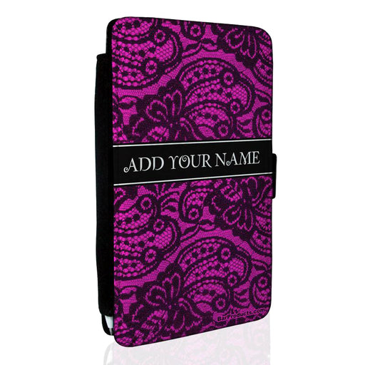 ADD YOUR NAME Guest Check Pad Holder - Sexy Lace