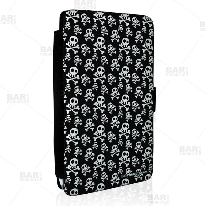Guest Check Pad Holder - Cute Skulls