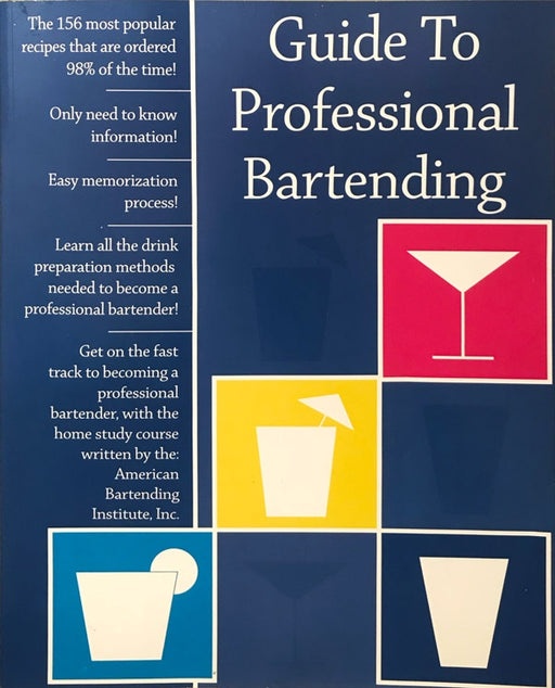 Book - Guide to Professional Bartending