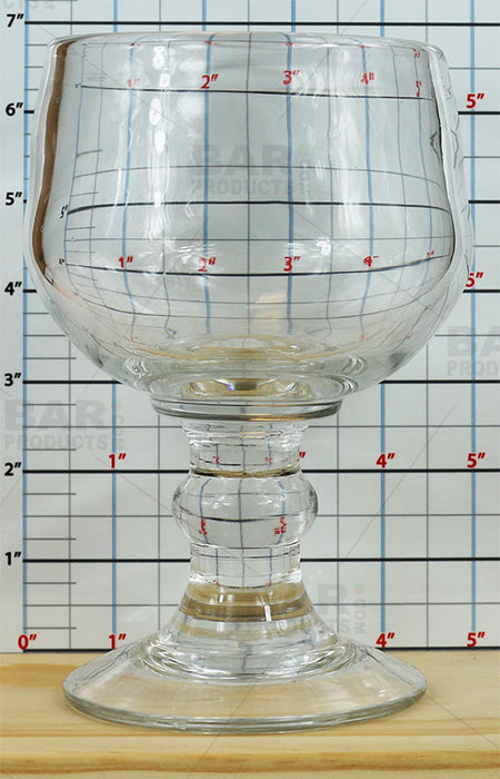 Thick Heavy Schooner Glass - 20oz