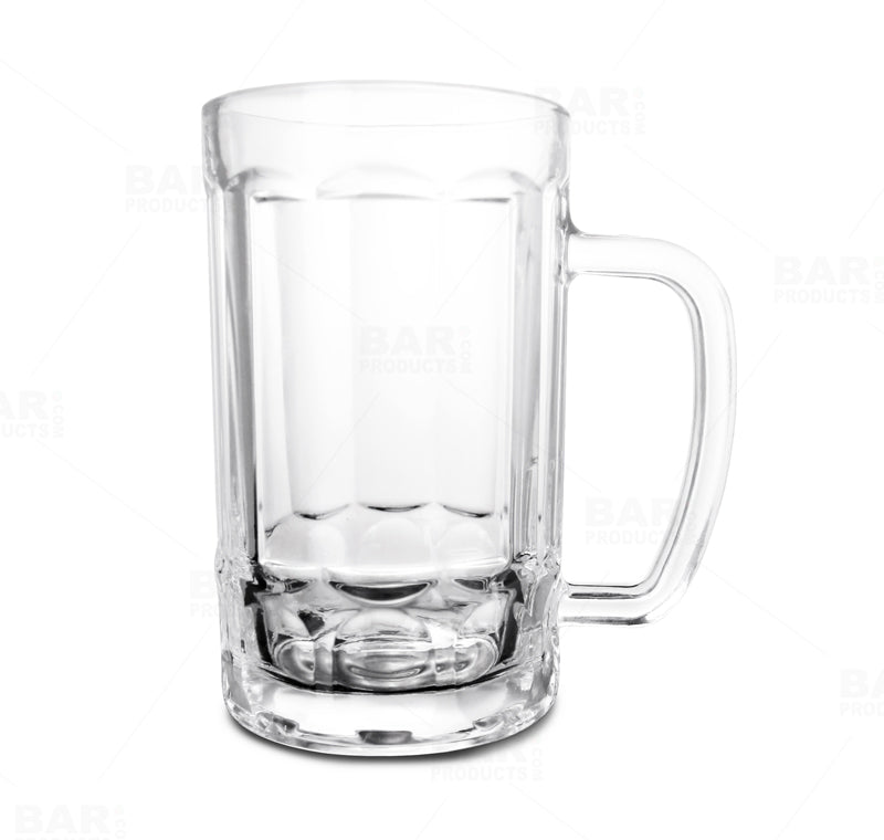 BarConic® Glassware - Paneled Beer Mug - 13 oz