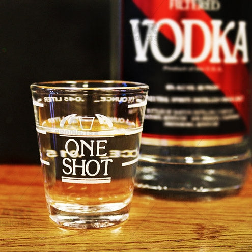 Professional Marked 2oz Shot Glass
