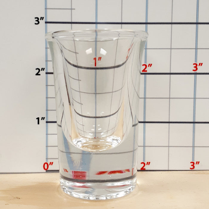 BarConic® 25 ml Flared Top Shot Glass with thick base