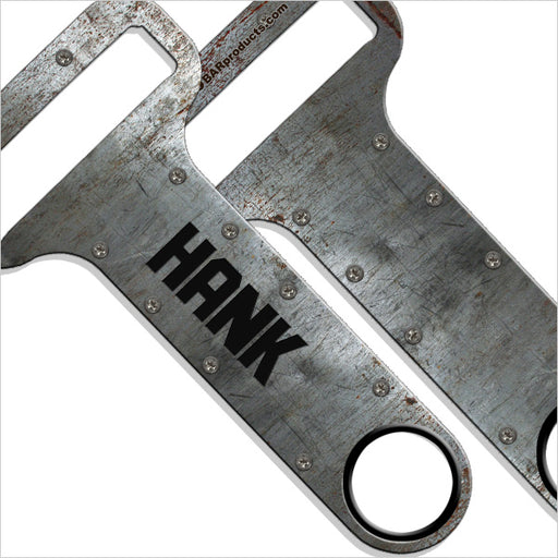 """ADD YOUR NAME"" HAMMERHEAD™ Bottle Opener - Metal Plate"
