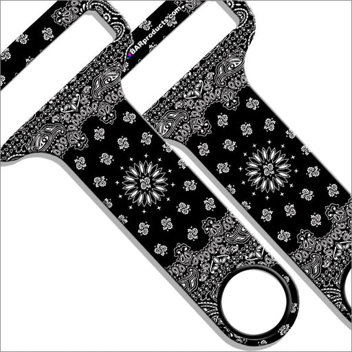 Kolorcoat™ HAMMERHEAD™ Bottle Opener - Black and White Bandana