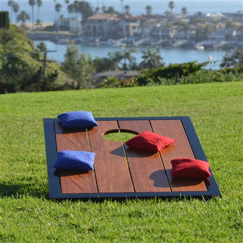 Hardwood Cornhole Set