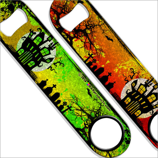 Kolorcoat™ Bottle Opener - Haunted House