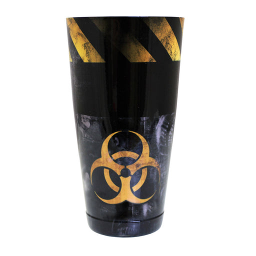 Cocktail Shaker Tin - Printed Designer Series - 28oz weighted - Grungy Hazard