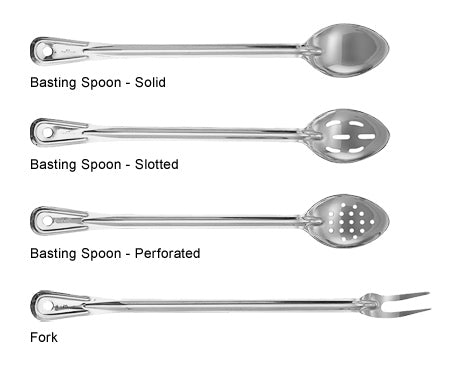 Heavy Duty Basting Spoons and Fork