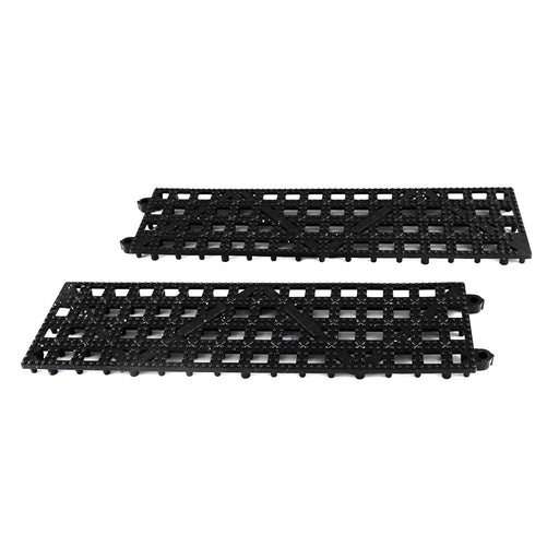 Interlocking Bar Mat Strip- Black