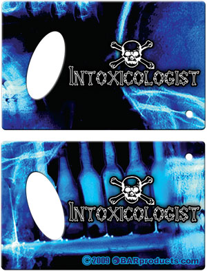 Credit Card Bottle Opener - Intoxicologist