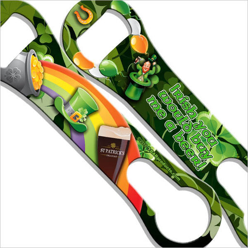 Kolorcoat V-Rod Bottle Opener - Irish You Would