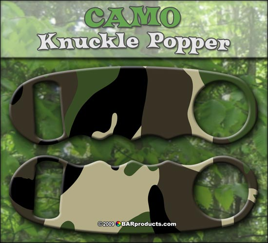 Knuckle Popper Bottle Opener - Camo