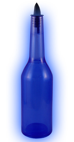 Kryptonite Blue Transparent Flair Bottle