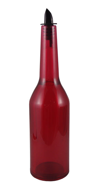 Kryptonite Red Transparent Flair Bottle