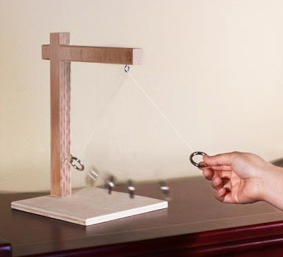 Ring Toss Game for Table Top