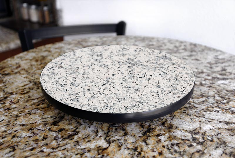 Lazy Susan - GRANITE Designs - 3 Different Sizes - For Kitchen Table Top