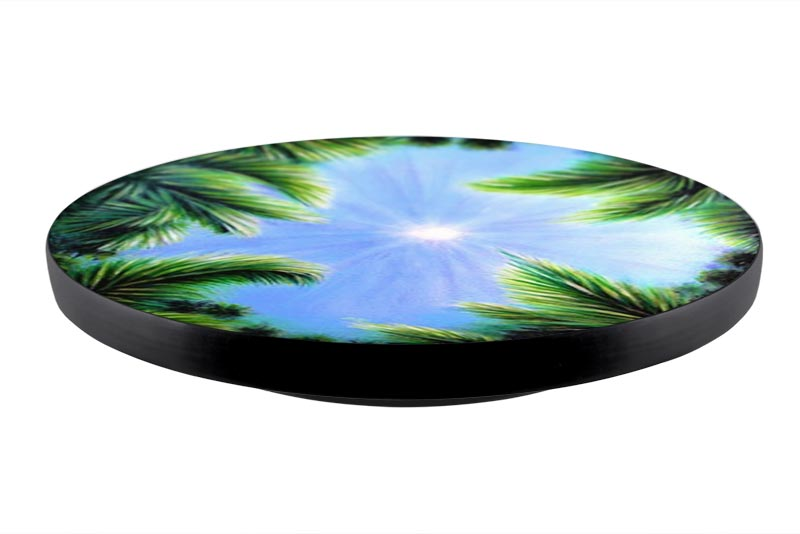Lazy Susan - SKY & TREES - 3 Different Sizes - For Kitchen Table Top