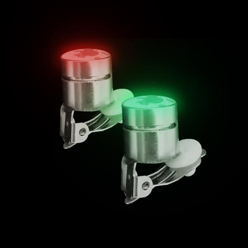 LED Flashing Body Light with clasp