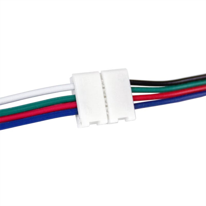 LED Strip to Power Connector - 4 pin - 10mm
