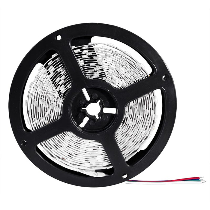 LED 5050 Water-Resistant Light Strip Kit - 5 meter Roll - 10MM - IP65 - RF Controller