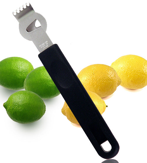 Lemon Zester / Stripper - Black Handle